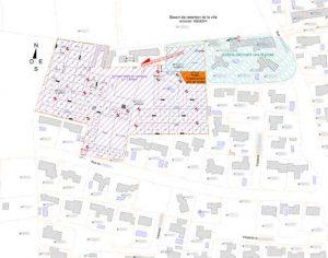 plan de masse zone refuge inondation camping