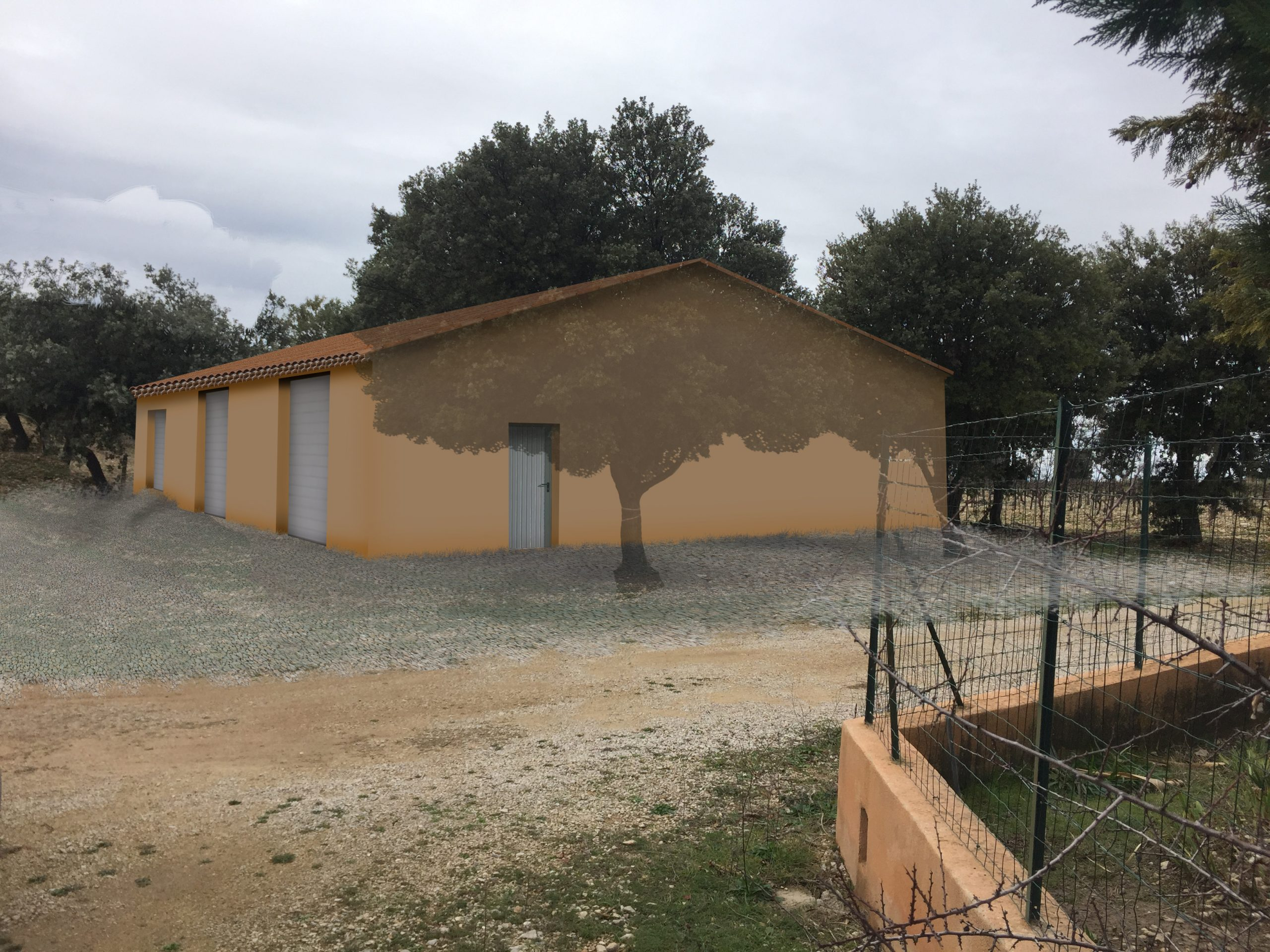 bâtiment agricole permis de construire