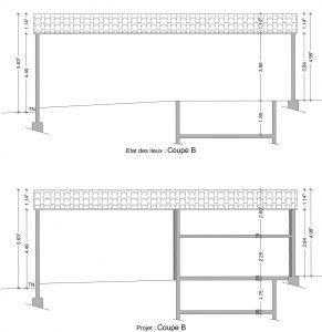 plan de coupe permis de construire