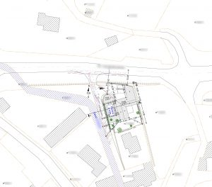 plan de masse permis de construire piscine