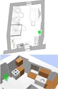 aménagement feng shui maison de village