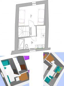 feng shui aménagement chambre et salle de bain