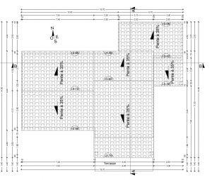 plan de toiture maison individuelle