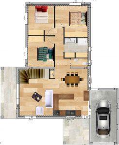 plan aménagement dessinateur en bâtiment Vaucluse