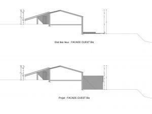 plan de facade permis de construire dessinateur en bâtiment drome