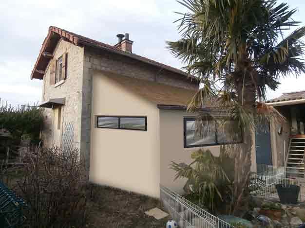 insertion paysagere permis de construire pour extension d habitation