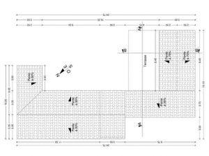plan de toiture avant permis de construire