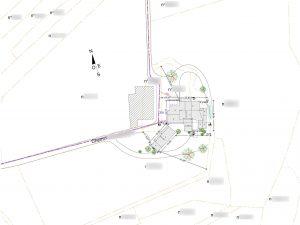 plan de masse permis de construire dessin de plan drome