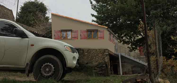 photomontage création d appartement dans une maison