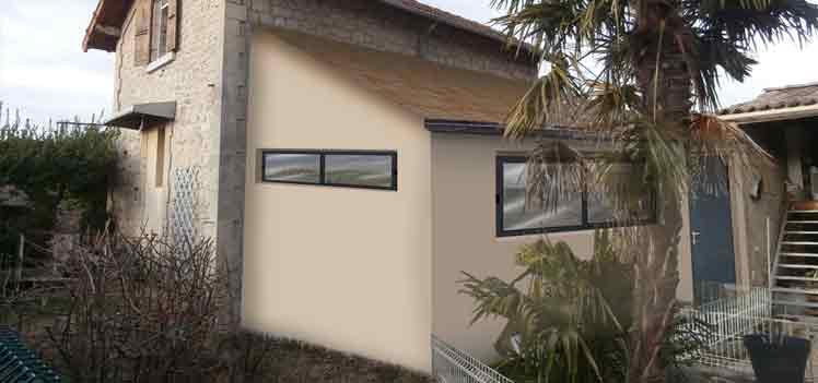 insertion paysagère permis de construire pour extension d habitation