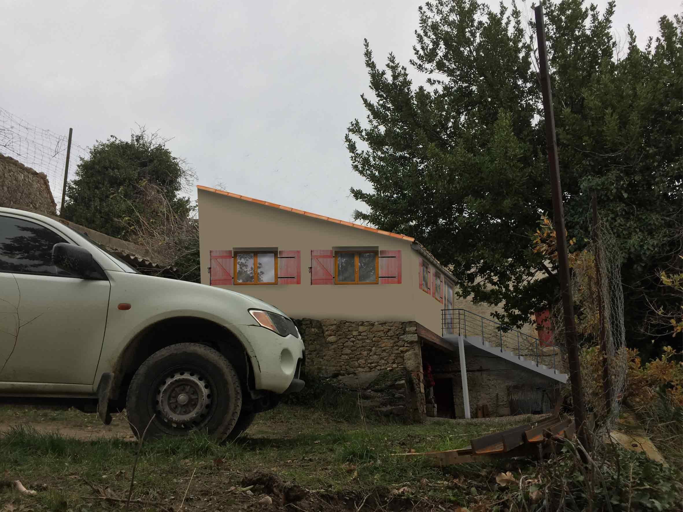 insertion paysagère projet permis de construire