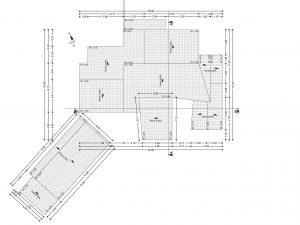 plan de toiture projet permis de construire