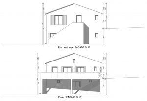 DP 5 plan de façade declaration préalable