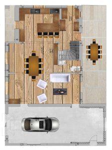 plan renovation maison le crestet