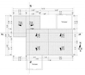 travaux copropriété exemple plan de toiture