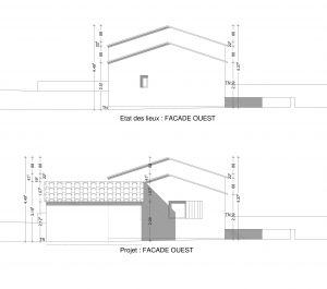 plan de facade declaration replaceable copropriété