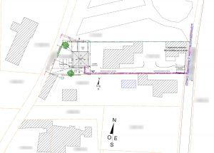 plan de masse construction villas du sud