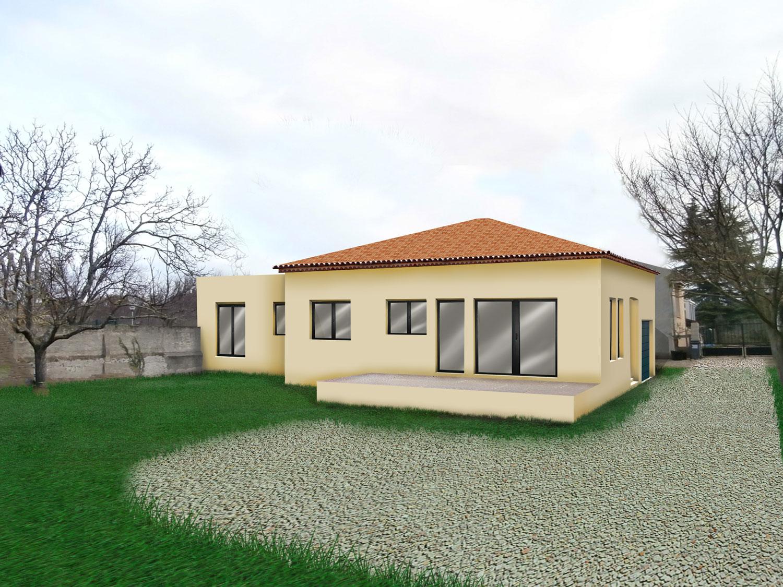 insertion paysagère permis de construire Vaison la Romaine