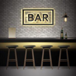 enseigne de bar