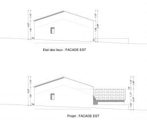 exemple DP 4 plan de facade declaration prealable