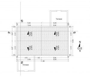 plan de toiture travaux copropriété