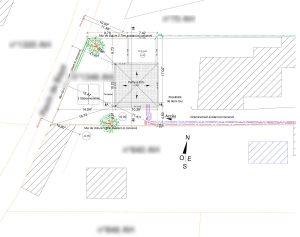 Plan de masse permis de construire Vaison la Romaine