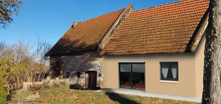 renovation grange permis de construire