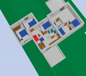 plan aménagement intérieur 3D