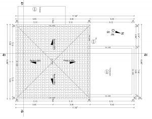 PC 5 plan de toiture permis de construire
