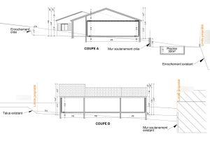 PCMI 3 plan de coupe permis de construire maison neuve