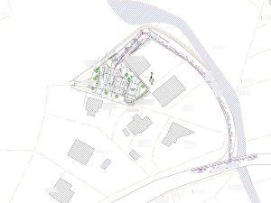 plan de masse PC 2 permis de construire