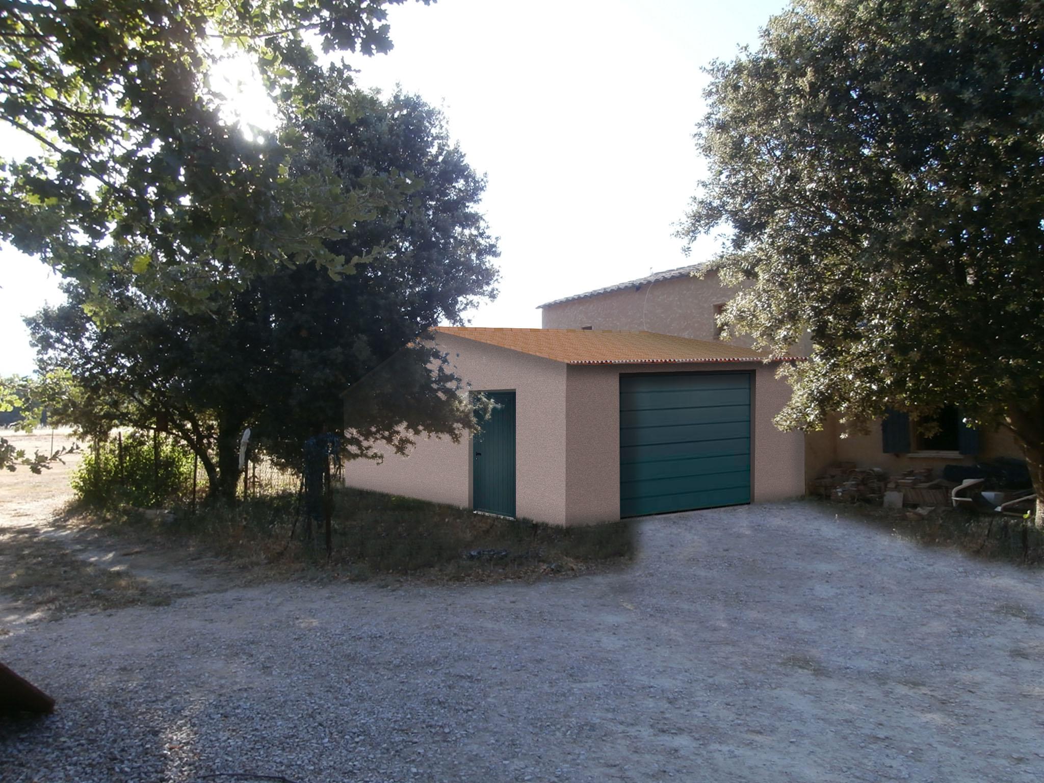 insertion paysagère permis de construire garage