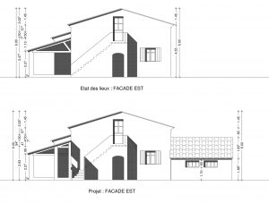 PC 5 plan de facade