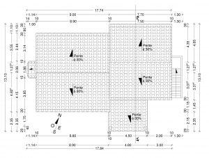 PCMI 5 plan de toiture garage