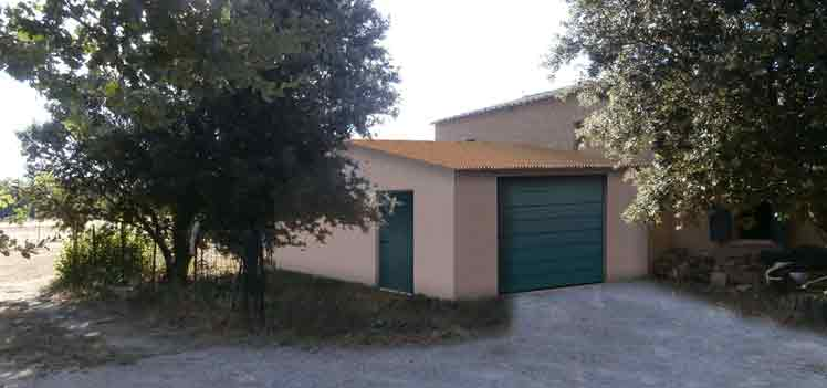 insertion paysagère permis de construire création de garage