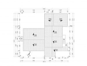 plan de toiture Permis de construire garage Entrechaux